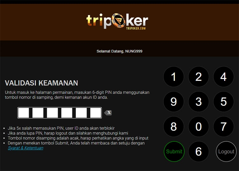 login idn poker 99 online